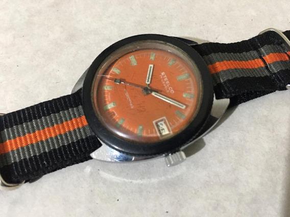 Reloj Marca Steelco Hydrostar Diver De Cuerda