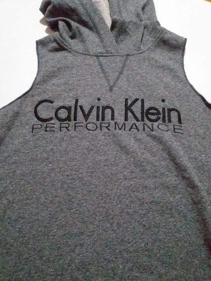 Musculosa Calvin Klein Con Capucha (unisex)