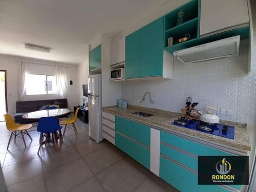 Casa Com 2 Dormitórios À Venda, 44 M² Por R$ 220.000,00 - Cibratel Ii - Itanhaém/sp - Ca1373