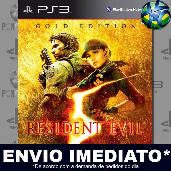 Resident Evil 5 Gold Edition Ps3 Psn Jogo Em Promoção Play 3