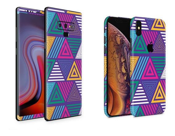 Skin Triangulos Apple Samsung Huawei Lg Sony Xiaomi Etc