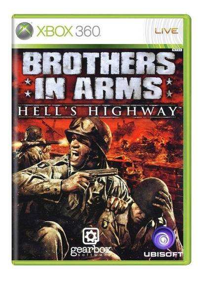 Brothers In Arms Hells Highway Xbox 360 Mídia Física
