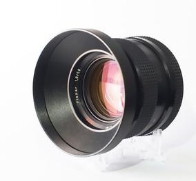 Lente 50mm Rollei Planar Zeiss- Ef-mount +adapt. Sony Emount