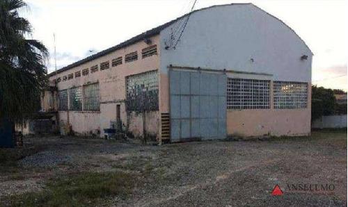Imagem 1 de 3 de Galpão Para Alugar, 1832 M² Por R$ 35.900,00/mês - Jordanópolis - São Bernardo Do Campo/sp - Ga0322