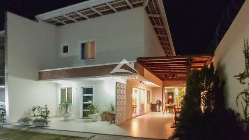 Imagem 1 de 26 de Casa Duplex À Venda, Edson Queiroz, Fortaleza, Ce - Ce - So0001_ftalle