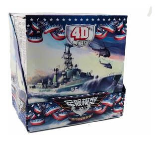 8 Barco De Guerra Escala 1:72 Militar Coleccionable Armar