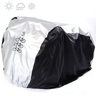 Maveek Cobertor Forro Funda Para 3 Bicicletas Impermeable Re