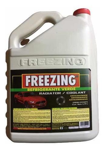 Refrigerante De Radiador Verde Freezing 3.79l!!!