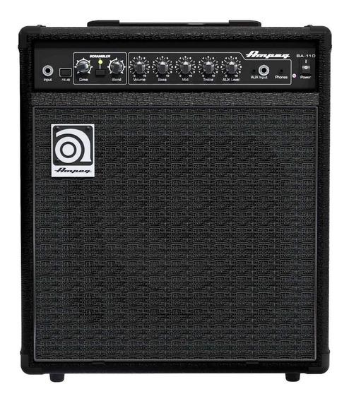 Amplificador Ampeg Bassamp Series BA-110 40W transistor negro 220V
