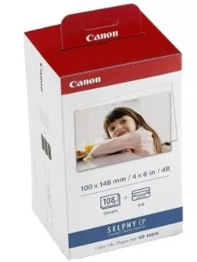 Kit Papel Canon Selphy - Leia O Anúncio!