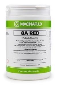 Partícula Magnética Colorida Via Seca Vermelha 8a Red 2kgs