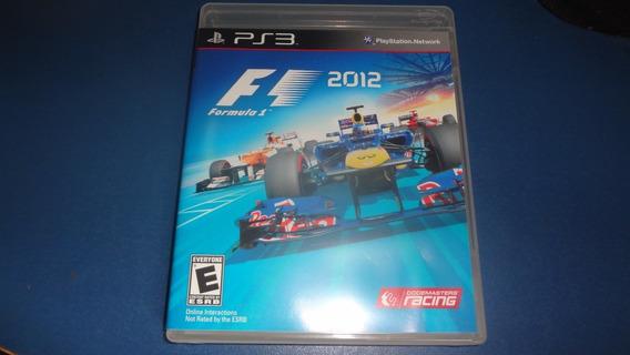 Jogo Formula 1 F1 2012 Ps3 Frete 15 Reais