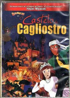 O Castelo De Cagliostro Hayao Miyazaki - Original
