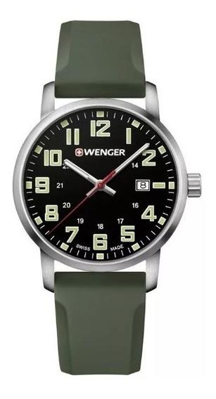 Relógio Suíço Wenger Avenue Pulseira De Silicone