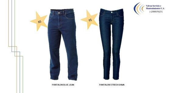 Pantalon Dama Uniforme Strech Jeans