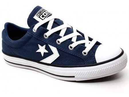 Tenis Converse All Star Co01360004 Cano Baixo Marinho