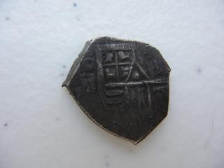 Moneda Macuquina 1 Real No 3