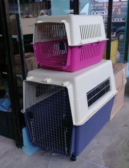 Jaula Transportadora Para Perros Grandes Con Ruedas
