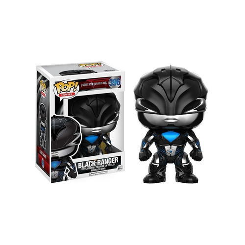 Funko Pop Black Ranger 396 - Power Rangers- Nuevo Original