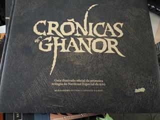 Livro Hq Crônicas De Ghanor