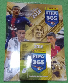 Album Fifa 365 2019 Figurinhas Blue Panini + 10 Envelopes