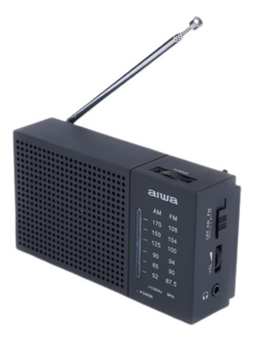 Imagen 1 de 2 de Radio Aiwa Awfml2 Am-fm Análogo Portátil Conector 3.5 Mm