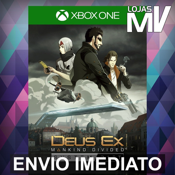Deus Ex Mankind Divided System Rift Xbox One 25 Dígitos