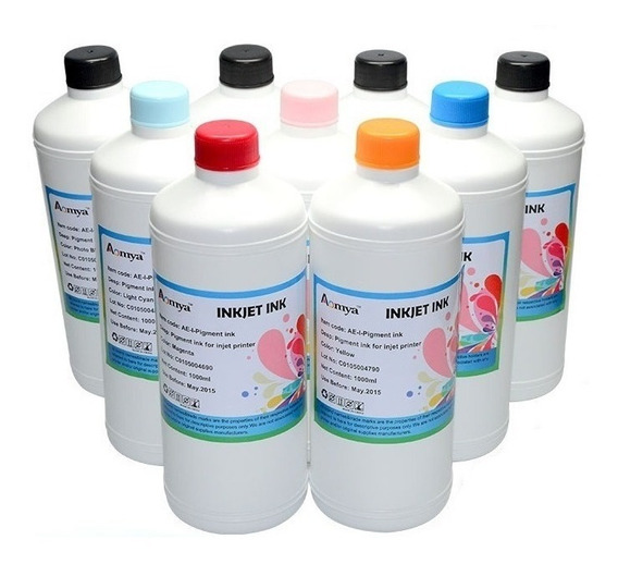 1 Litro Tinta Dye Para Impresoras Epson La Mejor Calidad