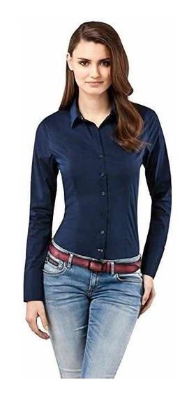 Pack X 3 Camisas Dama Elastizada Lisa Premium