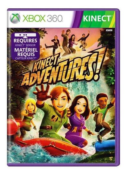 Kinect Adventures Xbox 360 Capa Dura Mídia Física