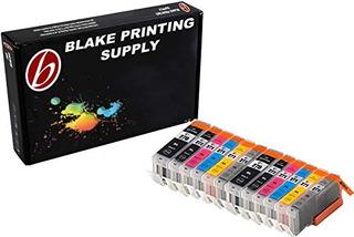 Blake Fuente Pack De 12cartuchos De Tinta De Impresión Para
