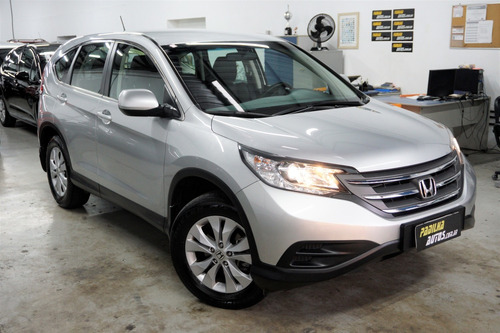Honda Cr-v Lx 2.0 Prata Automático 2014