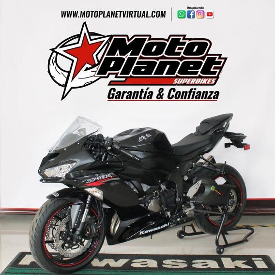 Kawasaki Zx-6r 636 Negro 2020 Nueva Bogotá
