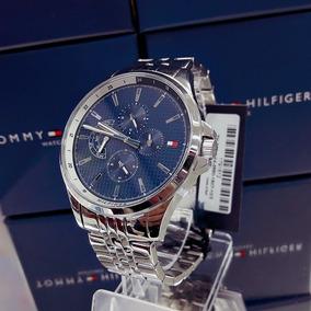 Relógio Tommy Hilfiger 1791612 Prata Aço Inox Azul