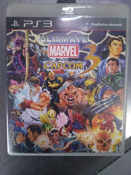 Ultimate Marvel Vs Capcom 3 Midia Fisica Impecavel