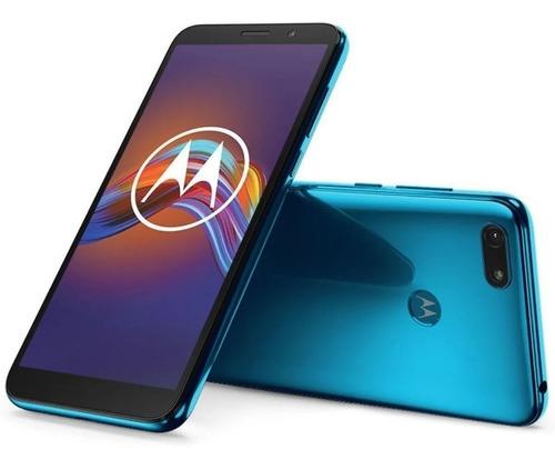 Motorola E6 Play 32gb 2gb Ram Azul Garantía Cuotas!