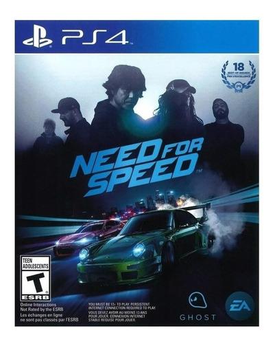 Imagen 1 de 4 de Need for Speed  Standard Edition Electronic Arts PS4 Físico