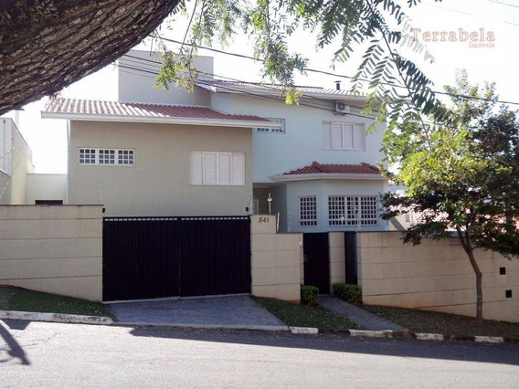 Casa Residencial À Venda, Jardim Panorama, Vinhedo. - Ca0168