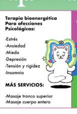 Atencion Psicológica Y Servicio De Masajes Relajantes