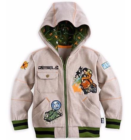 Disney Store Casaco Moleton Rebels Star Wars - Produto Origi