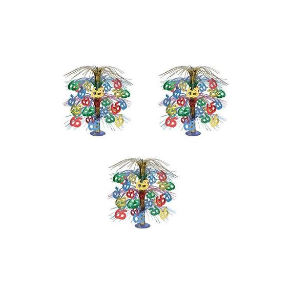 Beistle S50767mcaz3, 3 Piezas 65 Cascade Centerpieces, 18