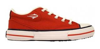 Zapatillas Topper Nova Low Rojo Reforzada (3303)