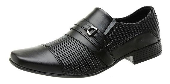 Sapato Social Sem Cadarço Masculino Moderno Impacto - 1021e