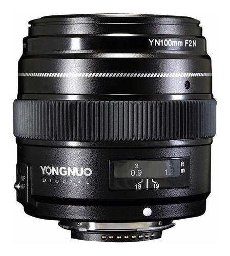 Imagem 1 de 4 de Lente Yongnuo 100mm F/2 Para Nikon