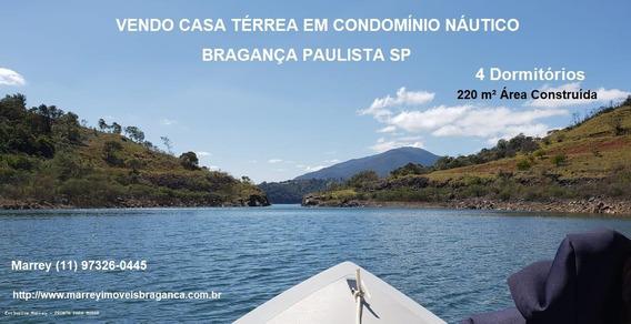 Represa Para Venda Em Bragança Paulista, Casa Em Condomínio Náutico - Bragança Paulista Sp, 4 Dormitórios, 2 Suítes, 4 Banheiros, 5 Vagas - 921_1-1525515