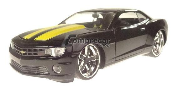 Miniatura Chevy Camaro Ss 2010 Roda Preta Jada Toys 1/24