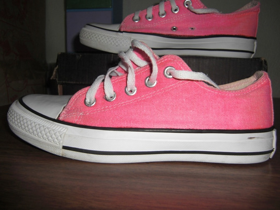 Zapatos Deportivos Converse All Star Color Rosado Talla 33