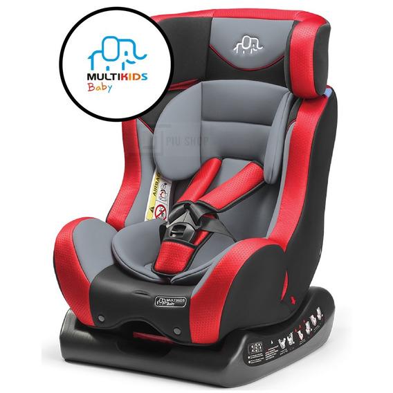 Cadeirinha Para Auto Vermelho Multikid Baby Reclinável Bb516