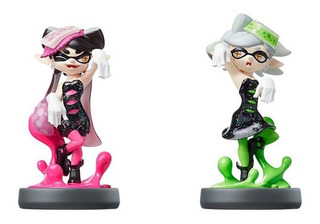 Amiibo Splatoon Callie Marie Squid Sisters Pack Switch 3ds