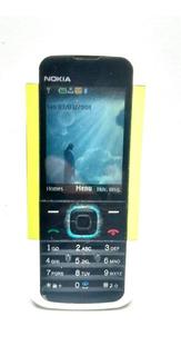 Nokia 5000d Suporta Um Chip Celular Usado